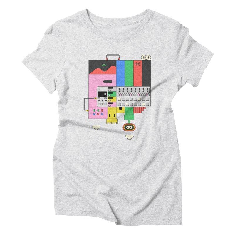 BEAT STEP BROS Women's Triblend T-Shirt by Super Magic Friend Store
