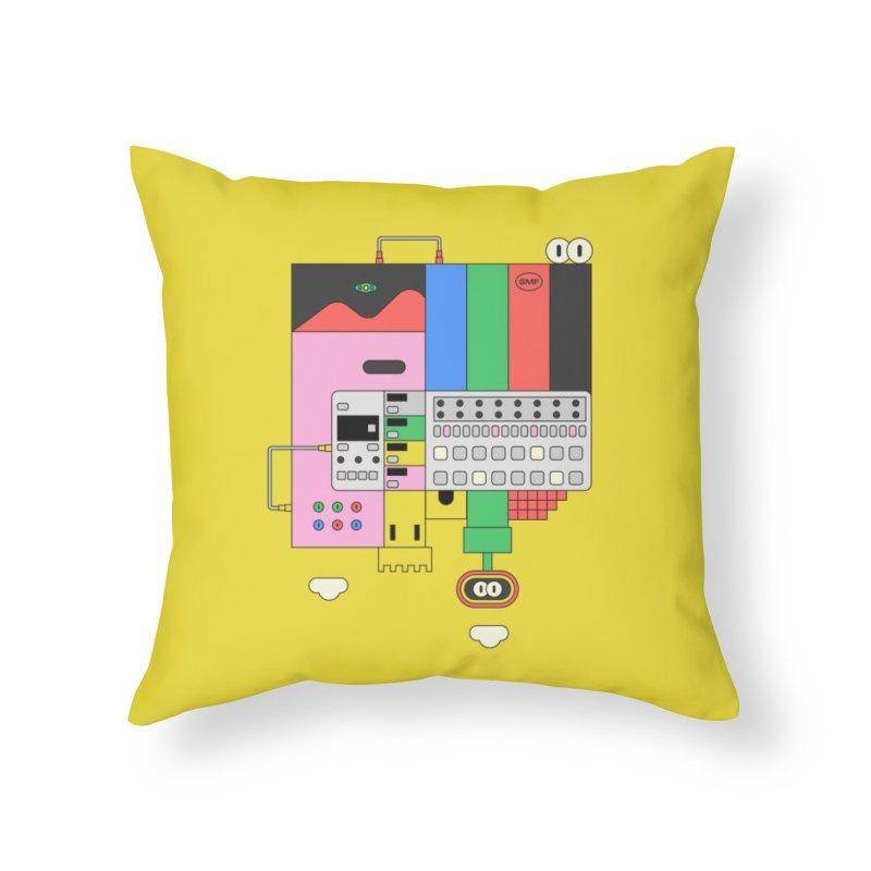 BEAT STEP BROS Home Throw Pillow by Super Magic Friend Store