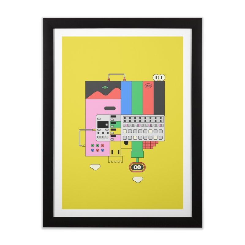 BEAT STEP BROS Home Framed Fine Art Print by Super Magic Friend Store