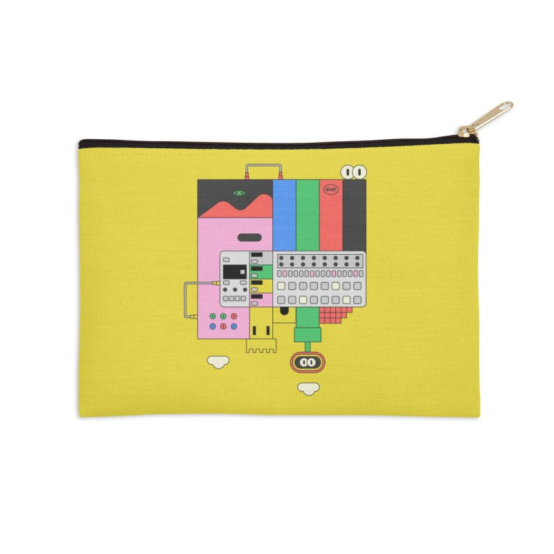 BEAT STEP BROS Accessories Zip Pouch by Super Magic Friend Store