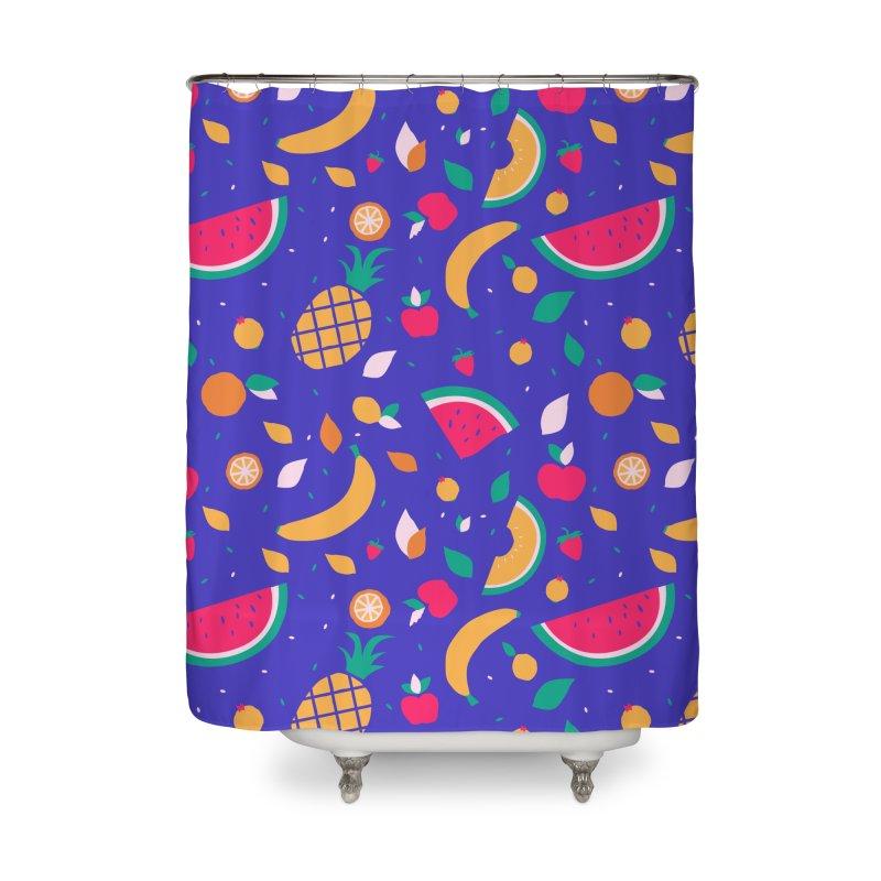 RICA FRUTA Home Shower Curtain by Super Magic Friend Store