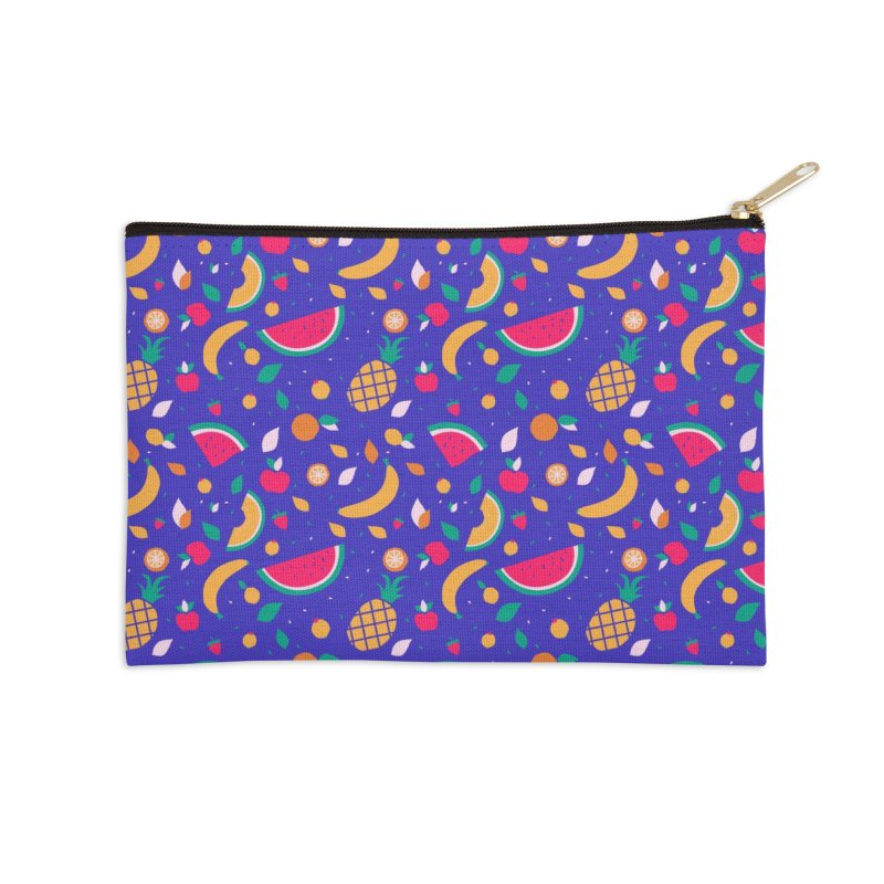 RICA FRUTA Accessories Zip Pouch by Super Magic Friend Store