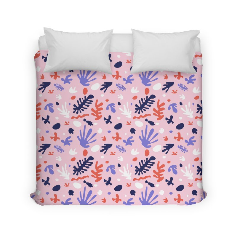 COLLAGE Home Duvet by Super Magic Friend Store