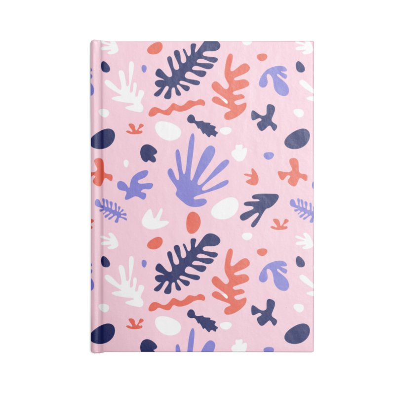 COLLAGE Accessories Blank Journal Notebook by Super Magic Friend Store
