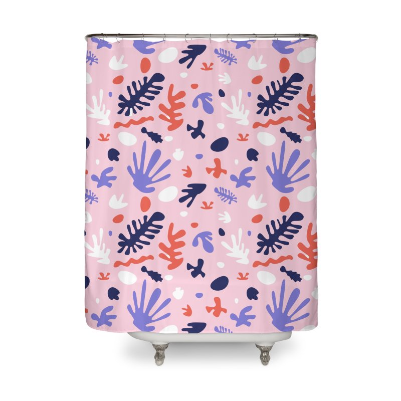 COLLAGE Home Shower Curtain by Super Magic Friend Store