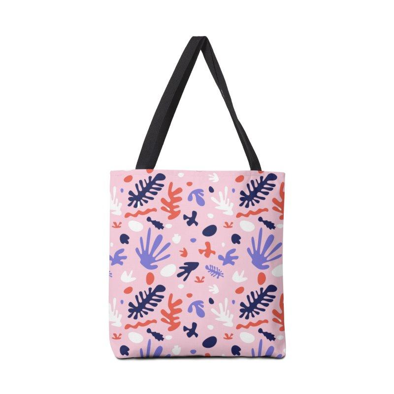 COLLAGE Accessories Tote Bag Bag by Super Magic Friend Store