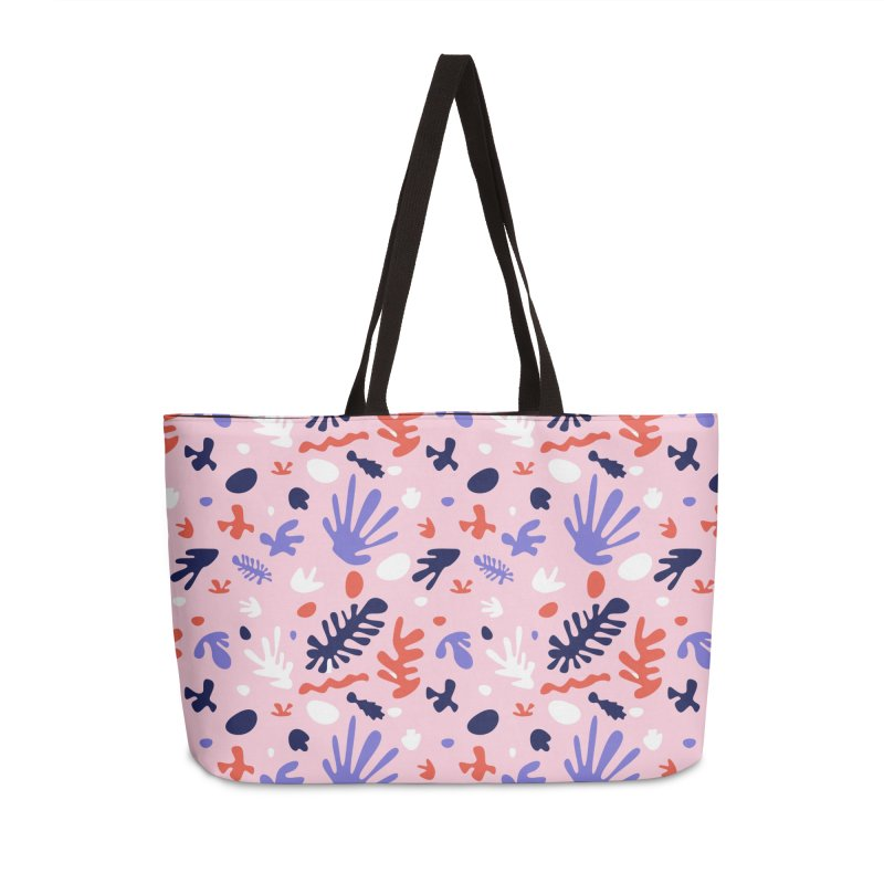 COLLAGE Accessories Weekender Bag Bag by Super Magic Friend Store
