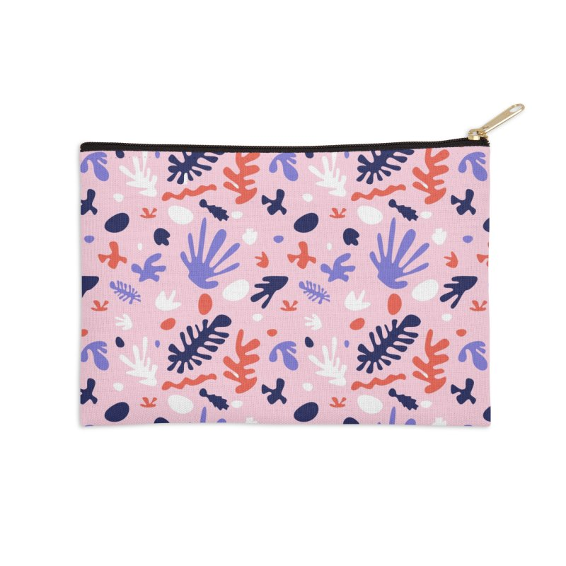 COLLAGE Accessories Zip Pouch by Super Magic Friend Store