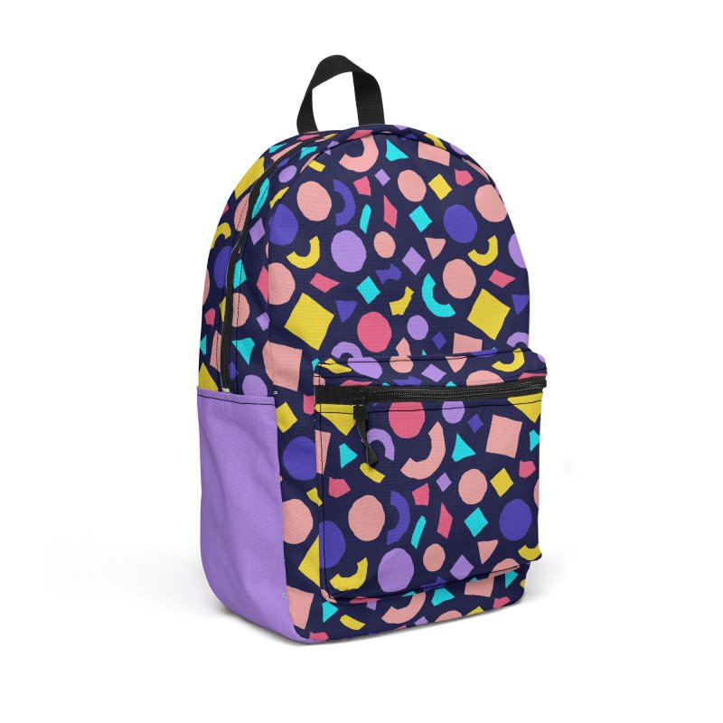 COLOR AND SHAPES Accessories Backpack Bag by Super Magic Friend Store