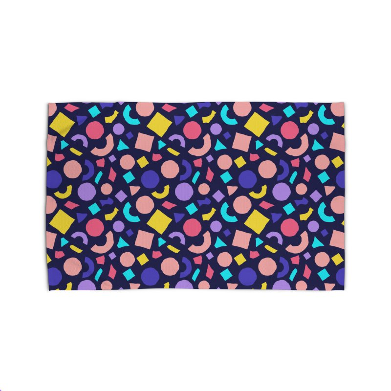 COLOR AND SHAPES Home Rug by Super Magic Friend Store