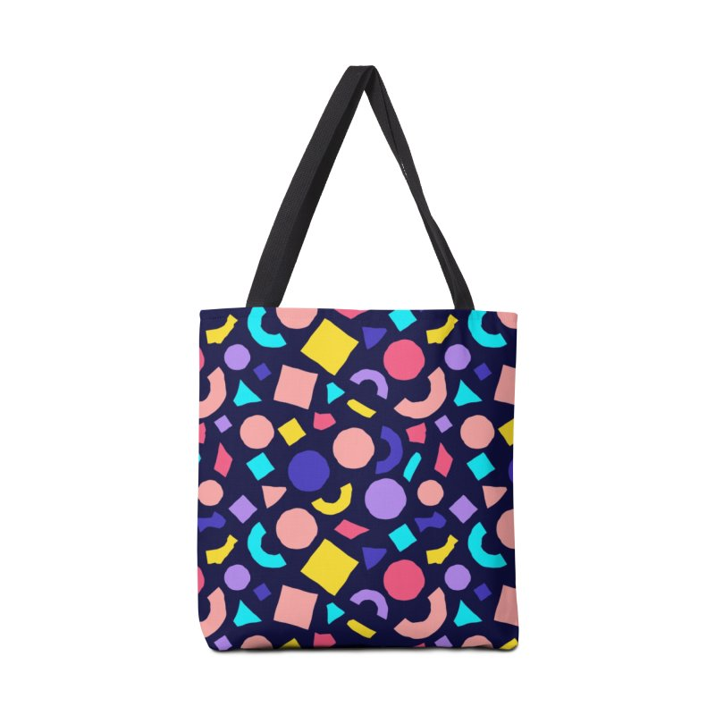 COLOR AND SHAPES Accessories Tote Bag Bag by Super Magic Friend Store