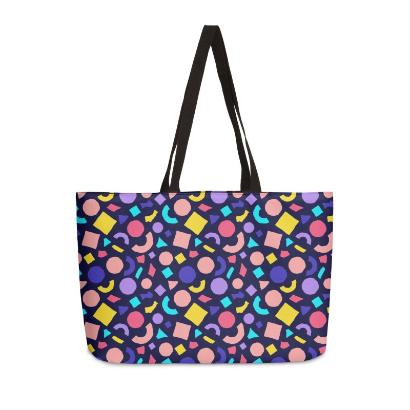 COLOR AND SHAPES Accessories Weekender Bag Bag by Super Magic Friend Store