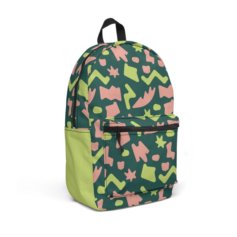 Neon garden Accessories Backpack Bag by Super Magic Friend Store