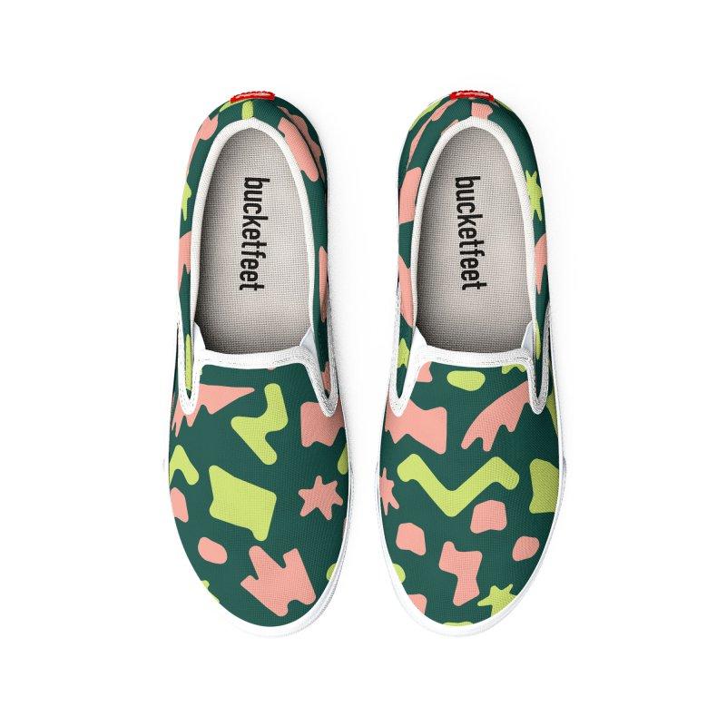 Neon garden Women's Shoes by Super Magic Friend Store