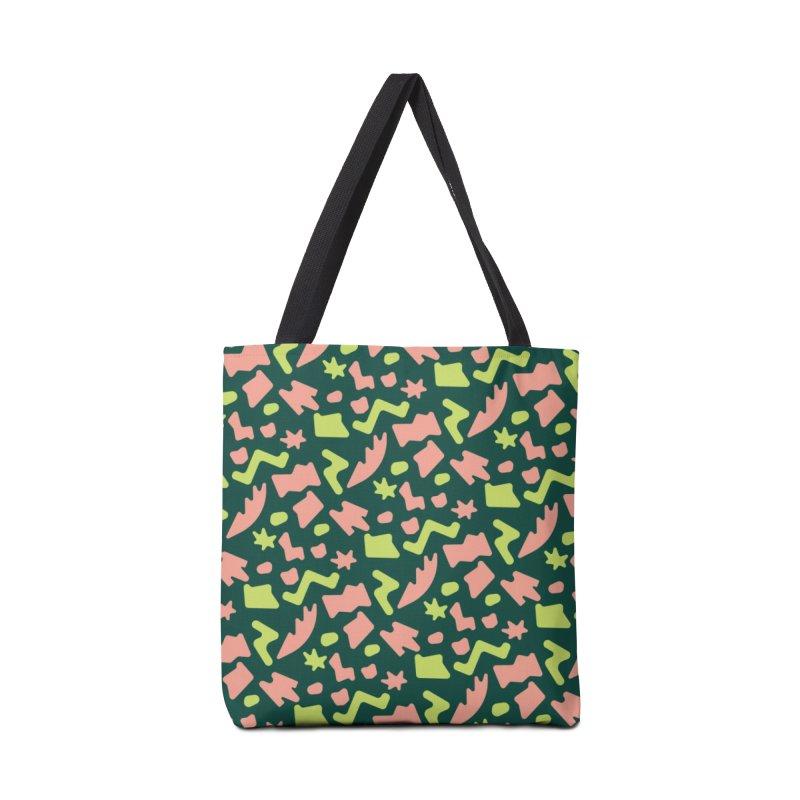 Neon garden Accessories Tote Bag Bag by Super Magic Friend Store