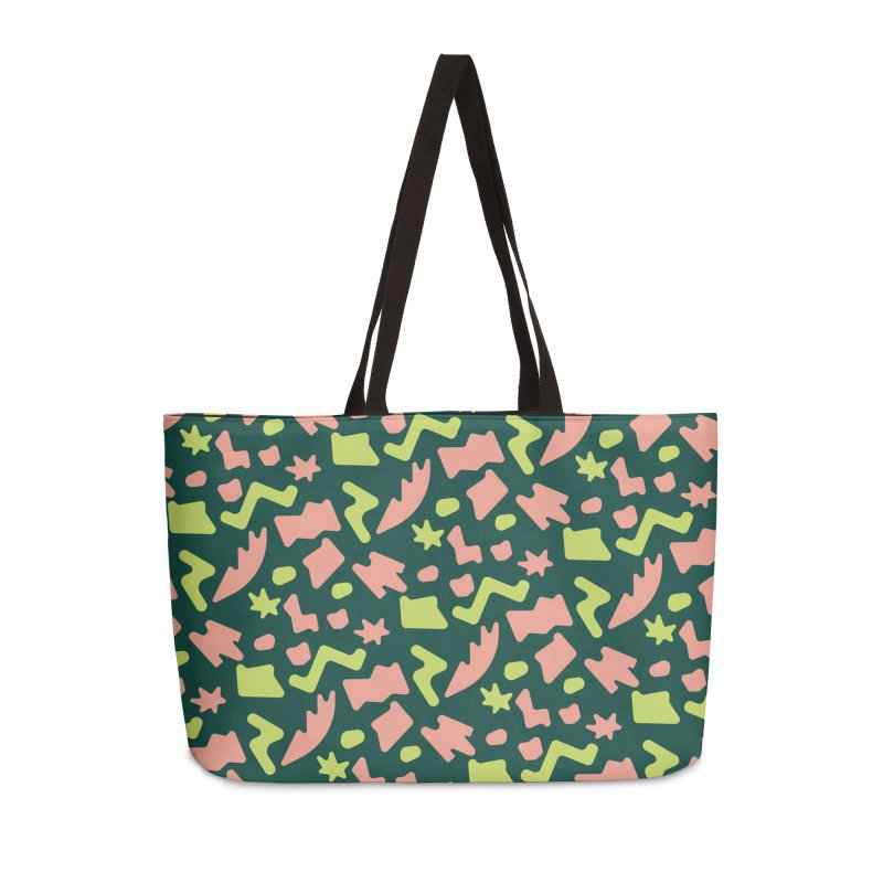 Neon garden Accessories Weekender Bag Bag by Super Magic Friend Store