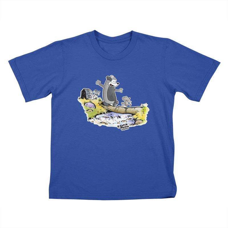 Summer Vibes! Kids T-Shirt by Super Marve Shop
