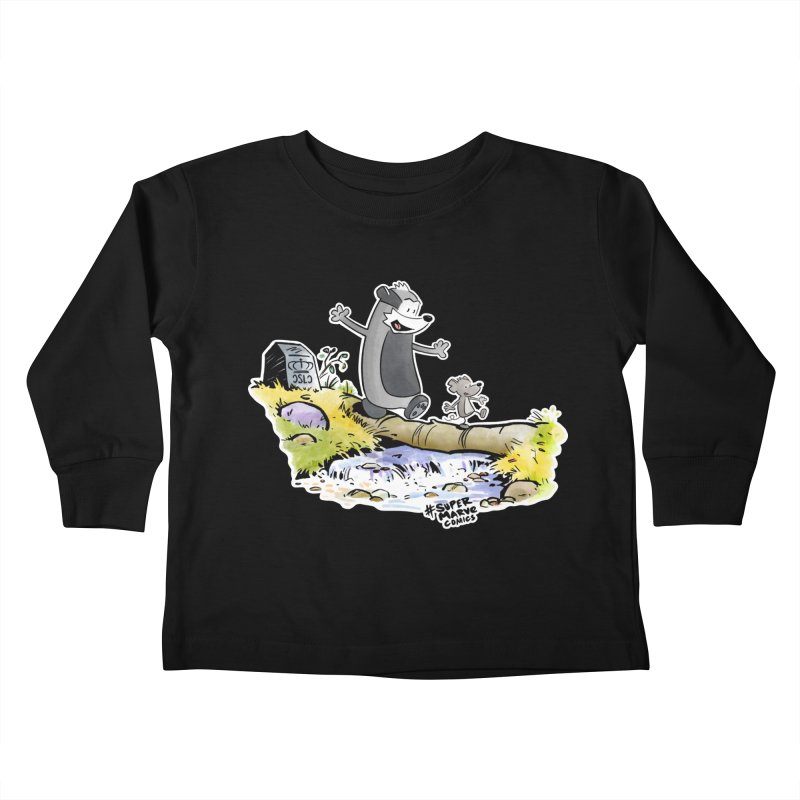 Summer Vibes! Kids Toddler Longsleeve T-Shirt by Super Marve Shop