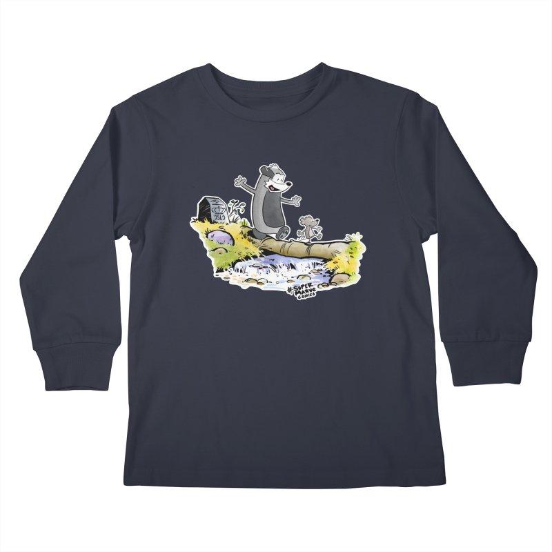 Summer Vibes! Kids Longsleeve T-Shirt by Super Marve Shop