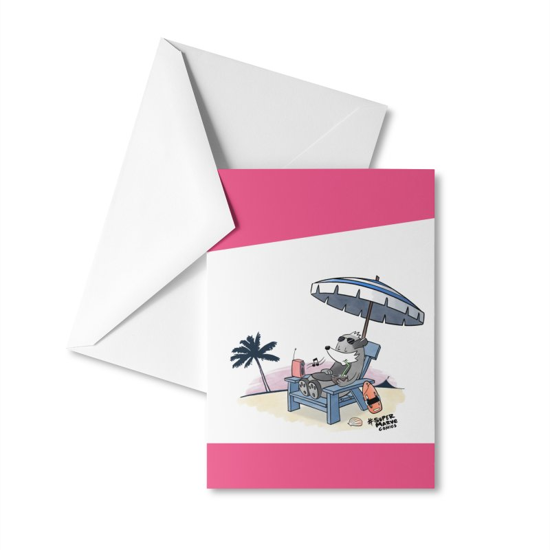 Aloha! Accessories Greeting Card by Super Marve Shop
