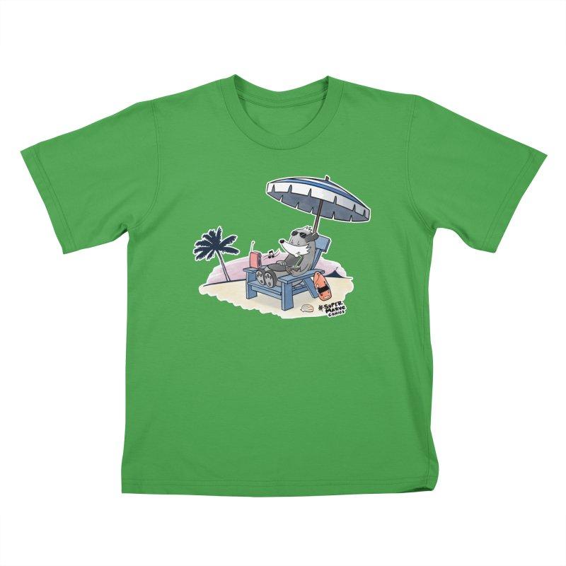Aloha! Kids T-Shirt by Super Marve Shop