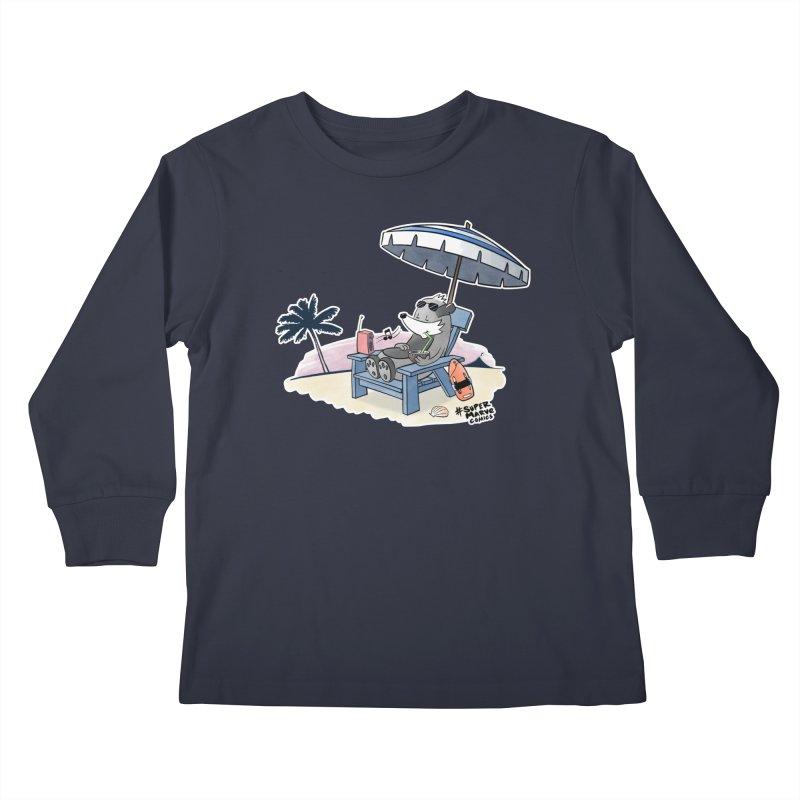 Aloha! Kids Longsleeve T-Shirt by Super Marve Shop