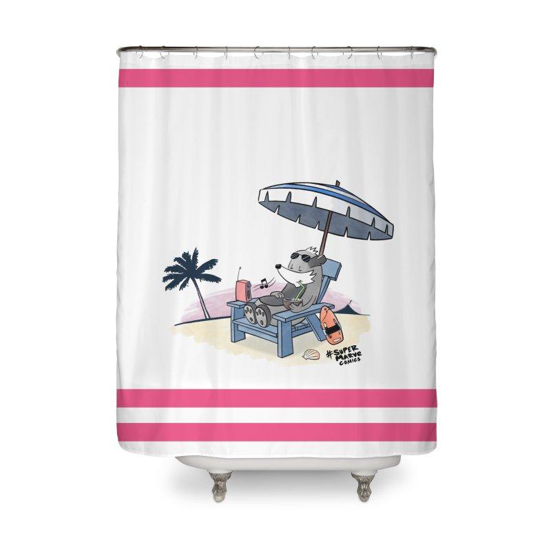 Aloha! Home Shower Curtain by Super Marve Shop