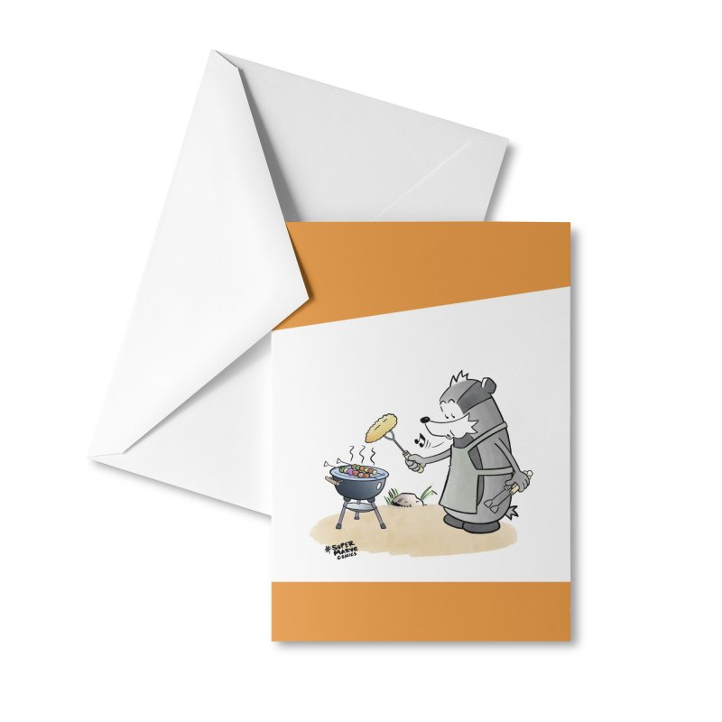 Grillmeister Accessories Greeting Card by Super Marve Shop