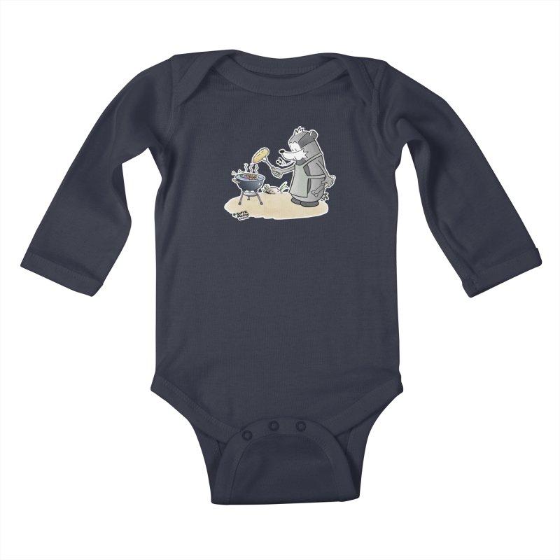 Grillmeister Kids Baby Longsleeve Bodysuit by Super Marve Shop