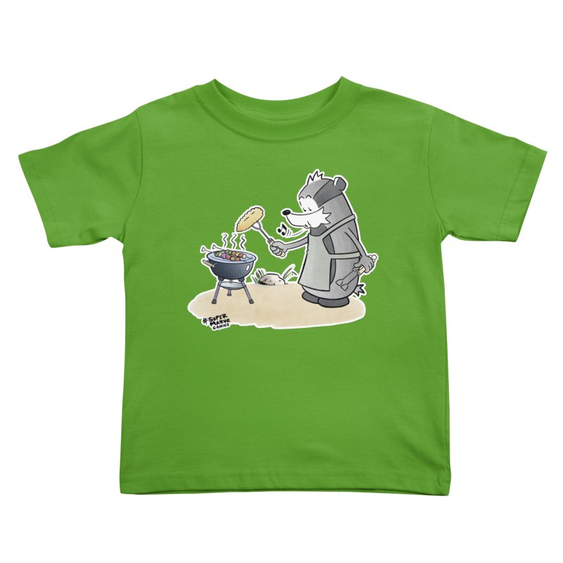 Grillmeister Kids Toddler T-Shirt by Super Marve Shop