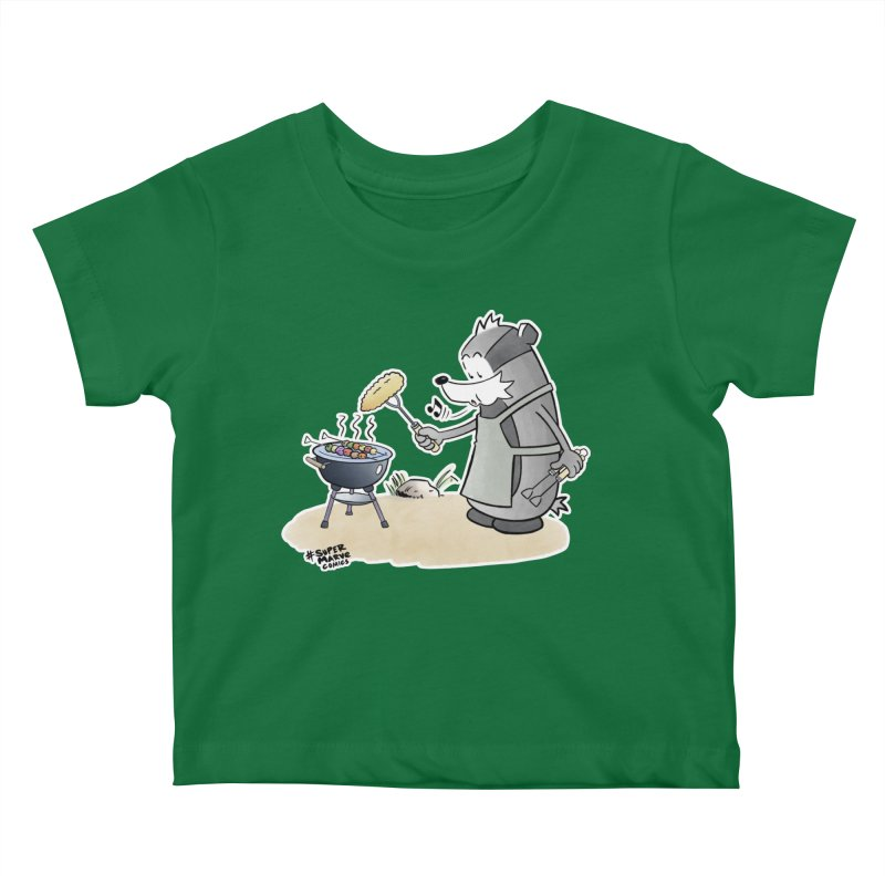 Grillmeister Kids Baby T-Shirt by Super Marve Shop