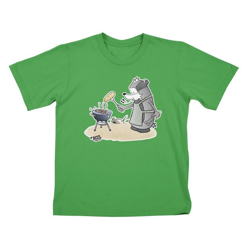 Grillmeister Kids T-Shirt by Super Marve Shop