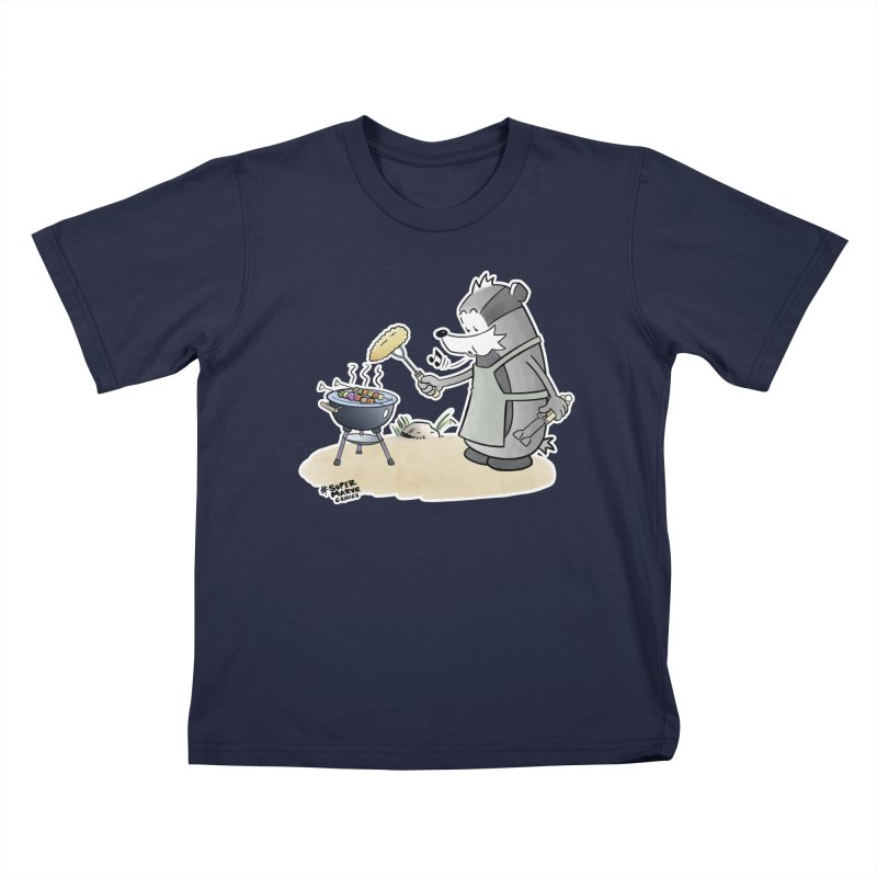 Grillmeister Kids T-Shirt by Super Marve Shop