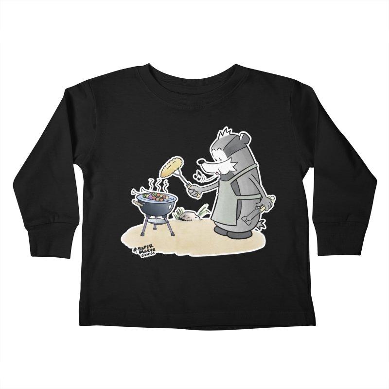 Grillmeister Kids Toddler Longsleeve T-Shirt by Super Marve Shop