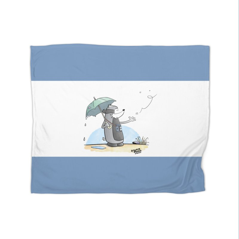 Snowflake Home Blanket by Super Marve Shop