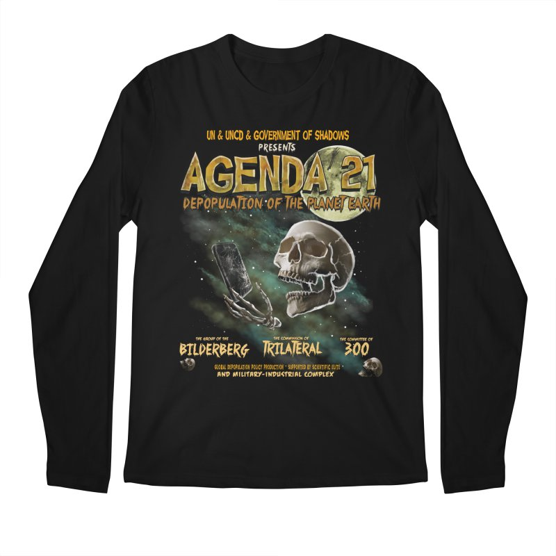 Agenda 21 Men's Regular Longsleeve T-Shirt by superneutrino's Artist Shop
