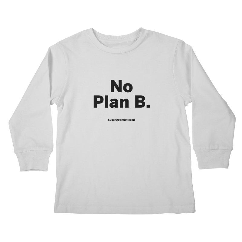 B. Kids Longsleeve T-Shirt by SuperOpt Shop