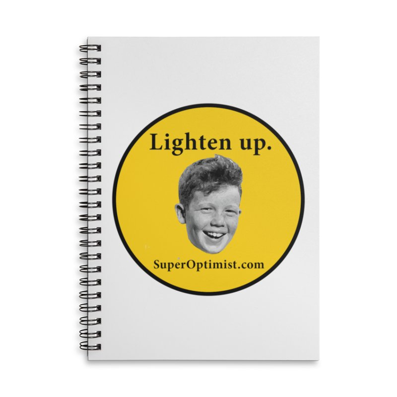 Lighten Up! Accessories Notebook by SuperOpt Shop