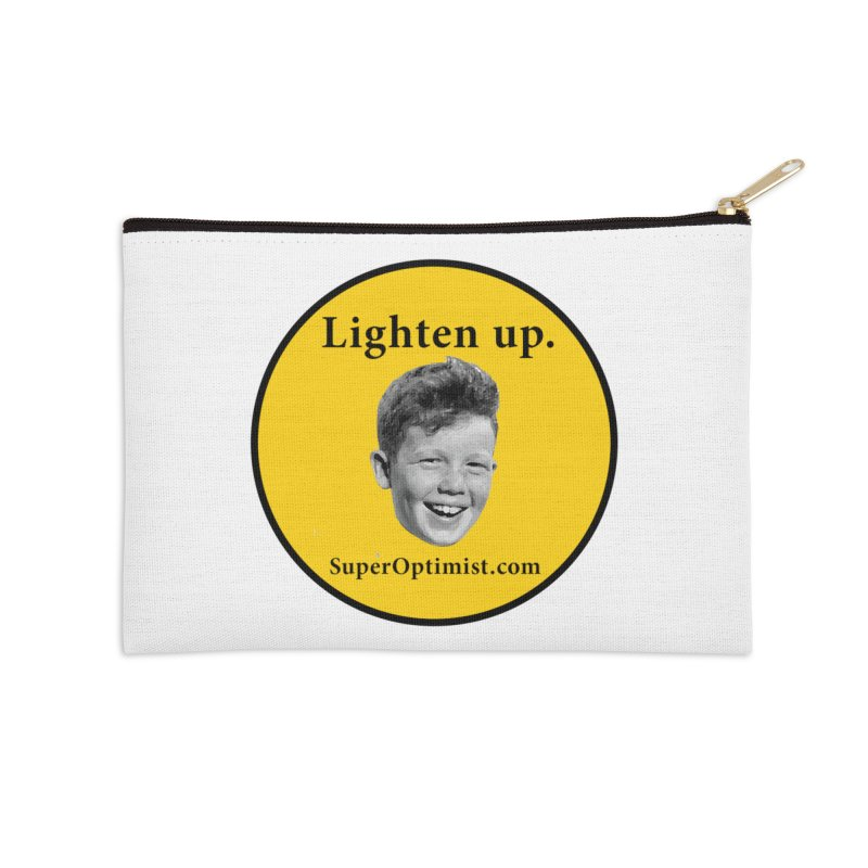 Lighten Up! Accessories Zip Pouch by SuperOpt Shop