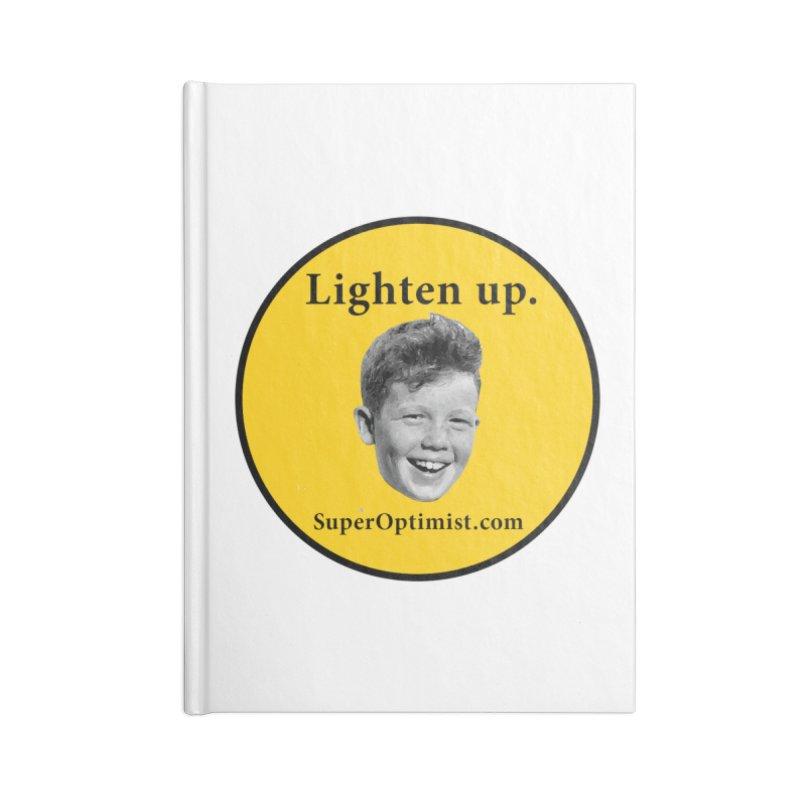 Lighten Up! Accessories Lined Journal Notebook by SuperOpt Shop