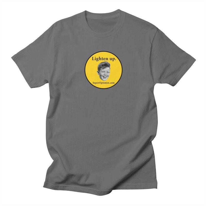 Lighten Up! Men's T-Shirt by SuperOpt Shop