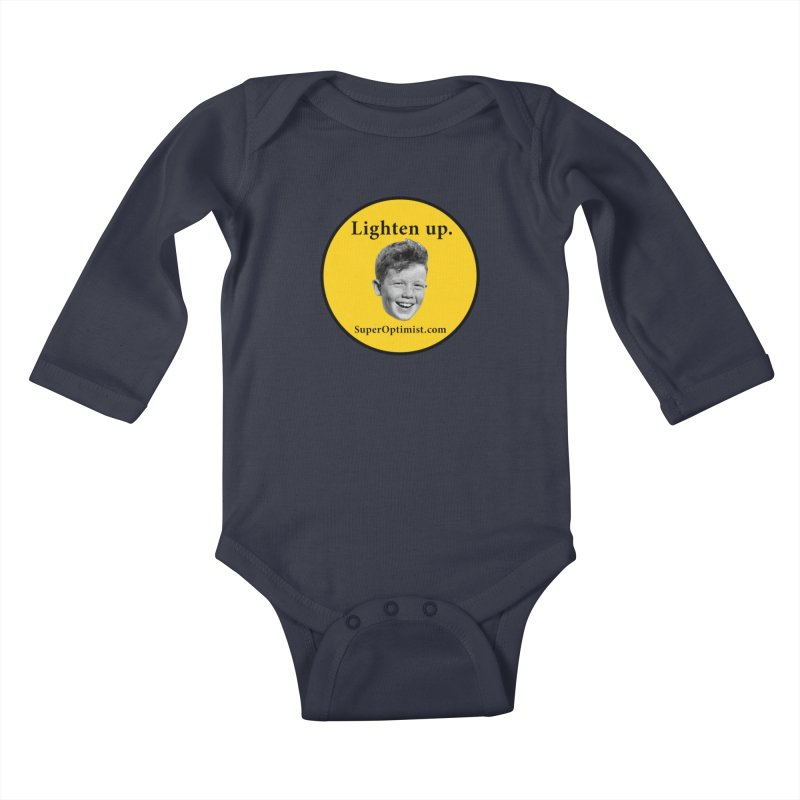 Lighten Up! Kids Baby Longsleeve Bodysuit by SuperOpt Shop