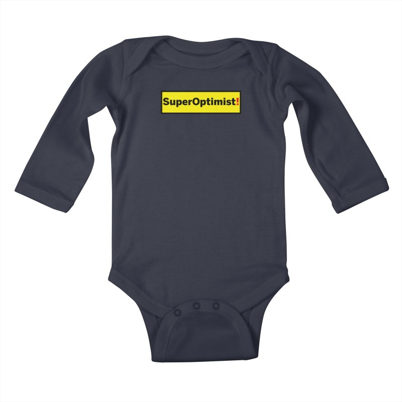 Exclamatory Kids Baby Longsleeve Bodysuit by SuperOpt Shop