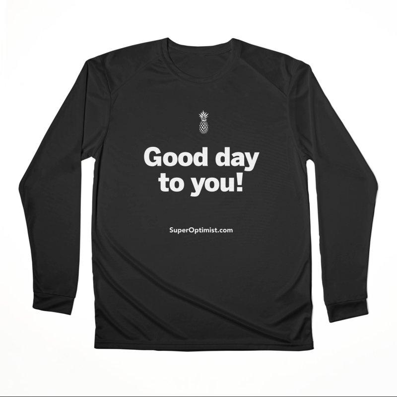 Good Day! Men's Longsleeve T-Shirt by SuperOpt Shop