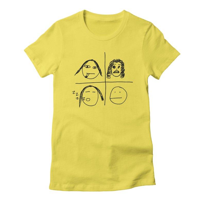 Quarantine Quartet Women's T-Shirt by SuperOpt Shop