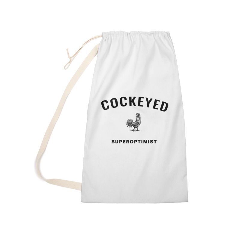 Cockeyed Accessories Bag by SuperOpt Shop