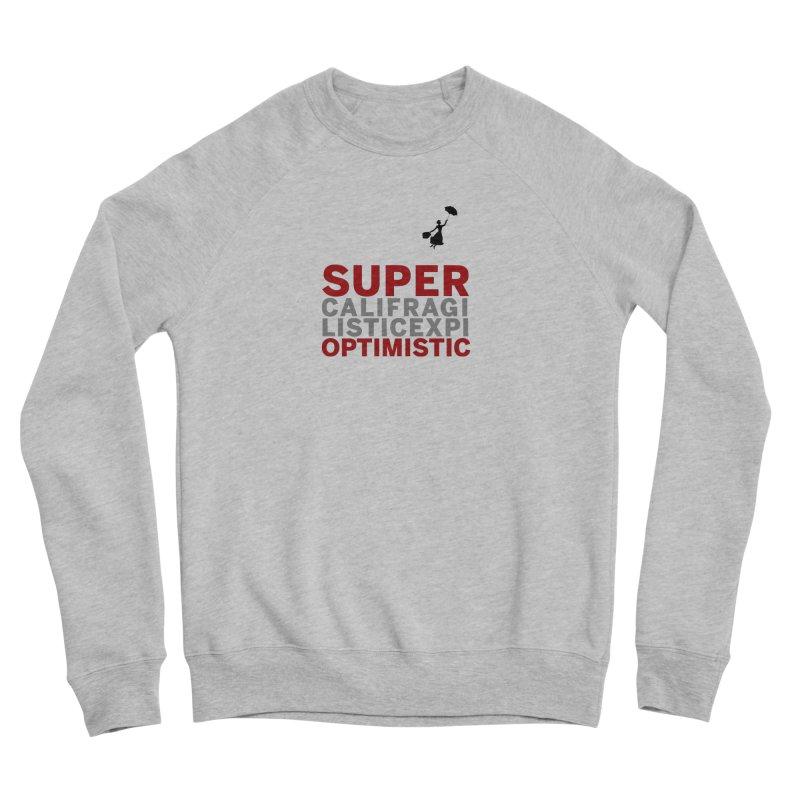 Look, Up in the Sky Men's Sweatshirt by SuperOpt Shop