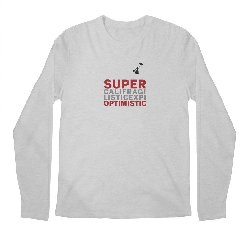 Look, Up in the Sky Men's Longsleeve T-Shirt by SuperOpt Shop
