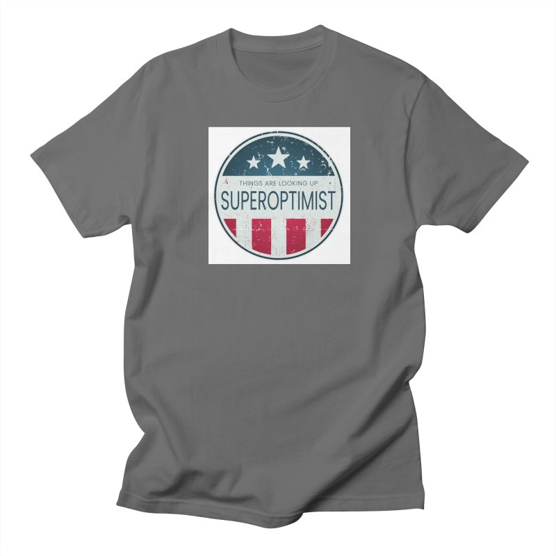 America the Positive Women's T-Shirt by SuperOpt Shop