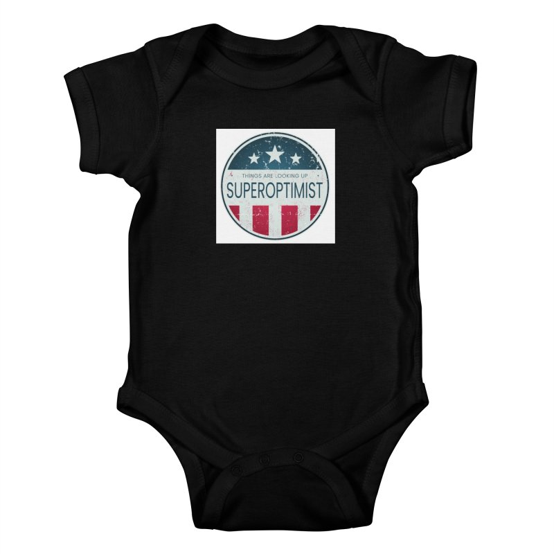 America the Positive Kids Baby Bodysuit by SuperOpt Shop